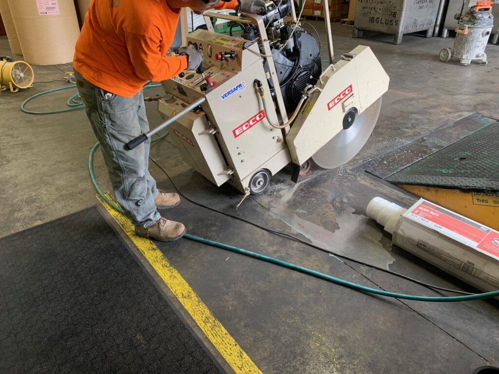 precision floor cutting